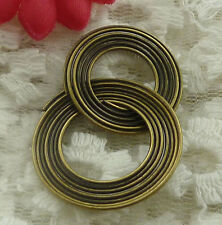 free ship 25 pieces bronze plated cute connector 38x27mm #2340