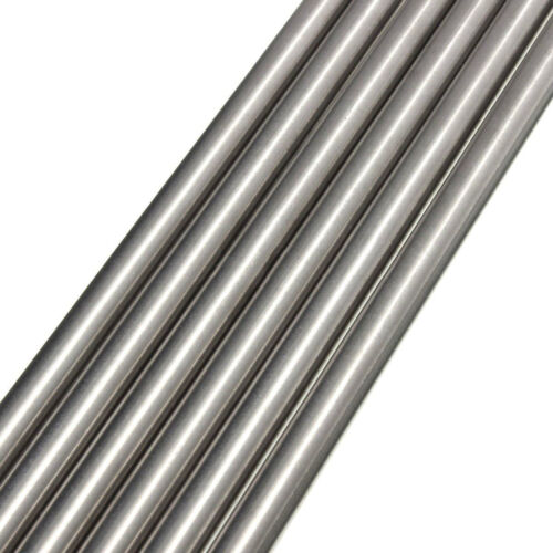 500mmx10mm 1PC Titanium Ti Grade GR5 Titanium Alloy Rod Round Bar Metal