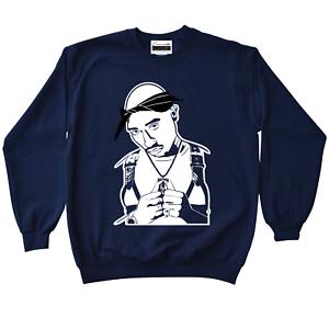 e18b0683cc4a Image is loading Tupac-Shakur-2Pac-Crewneck-Sweatshirt-To-Match-Retro-
