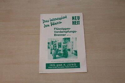 163088) K. Jung - Flüssiggas Technik - Prospekt 197?