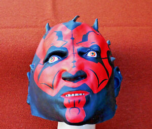 image is loading deluxe darth maul mask rubber real looking star