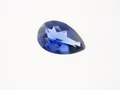 .31ct  5.0mm x 3.0mm Pear Cut Loose Lab Created Blue Sapphire