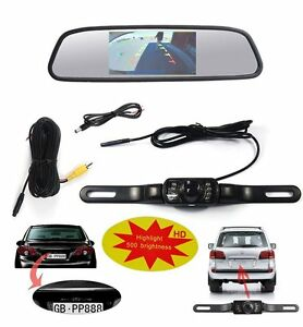 J-cotton-Design-Backup-Camera-and-Monitor-4-3-034-inch-Waterproof-Backup-Camera-amp-R