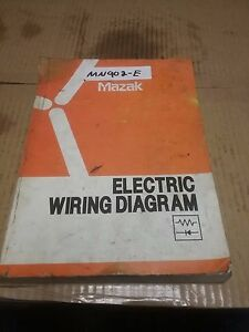 mazak electrical wiring diagrams pfh 4800 pfh 5800 dd262004006a ebay rh ebay com mazak electrical wiring diagram Light Switch Wiring Diagram