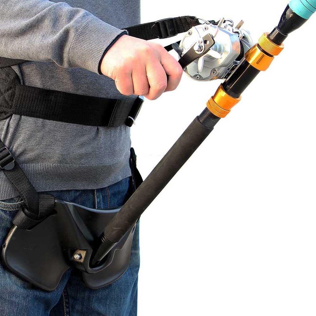 Stand Up Boat Fishing Rod Holder Fighting  Belt Adjustable Harness Belt Strap  save on clearance