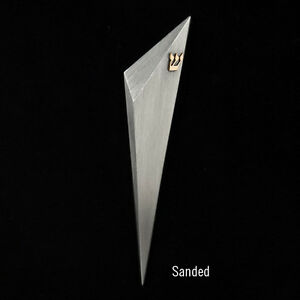 Image is loading Contemporary-Modern-Mezuzah-Hand-Fabricate-For-Jewish- Wedding-