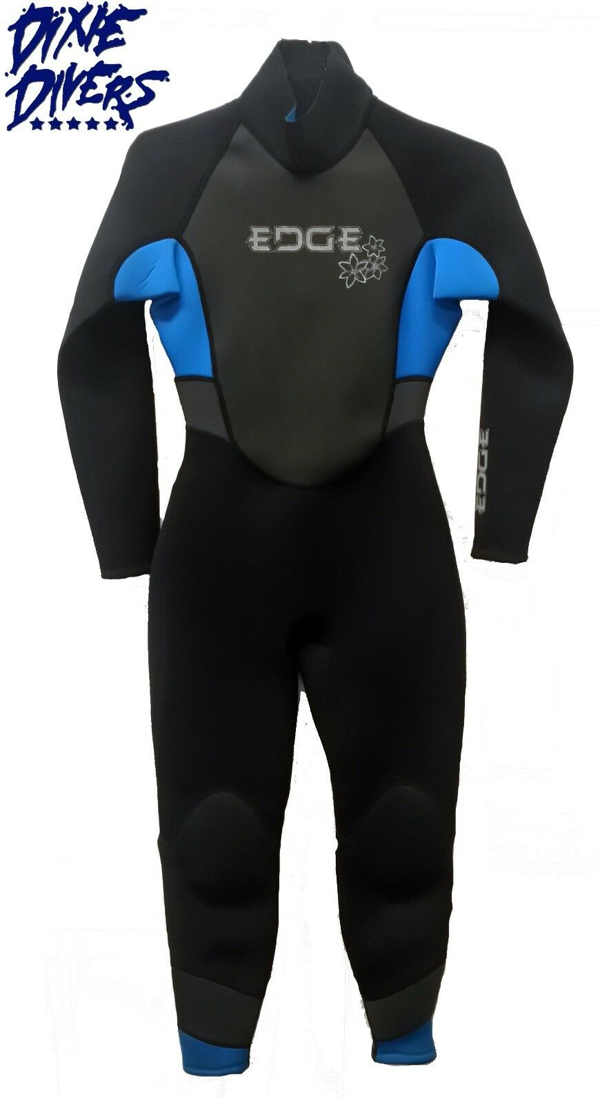 ATLAN FLEXTEC 3 2 mm Womens Jumpsuit Wetsuit Scuba Diving Freediving Size LG(12)