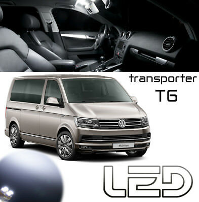 VW Multivan Transporter T6 Packung 27 Led-Lampen Weiß Deckenleuchte Kofferraum