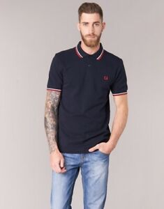 POLO-FRED-PERRY-HOMME