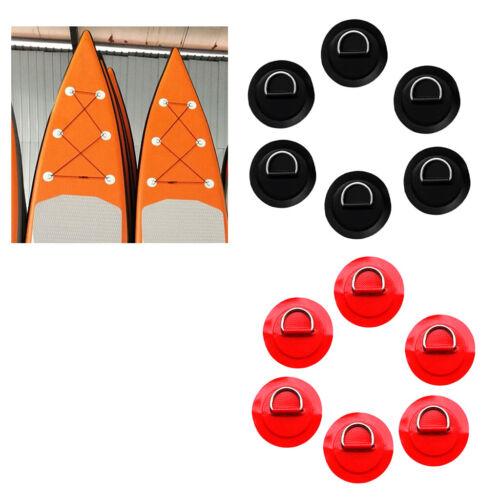 12 Stücke 8 cm 3,15 /'/' D ring Pad Patch für PVC Schlauchboot