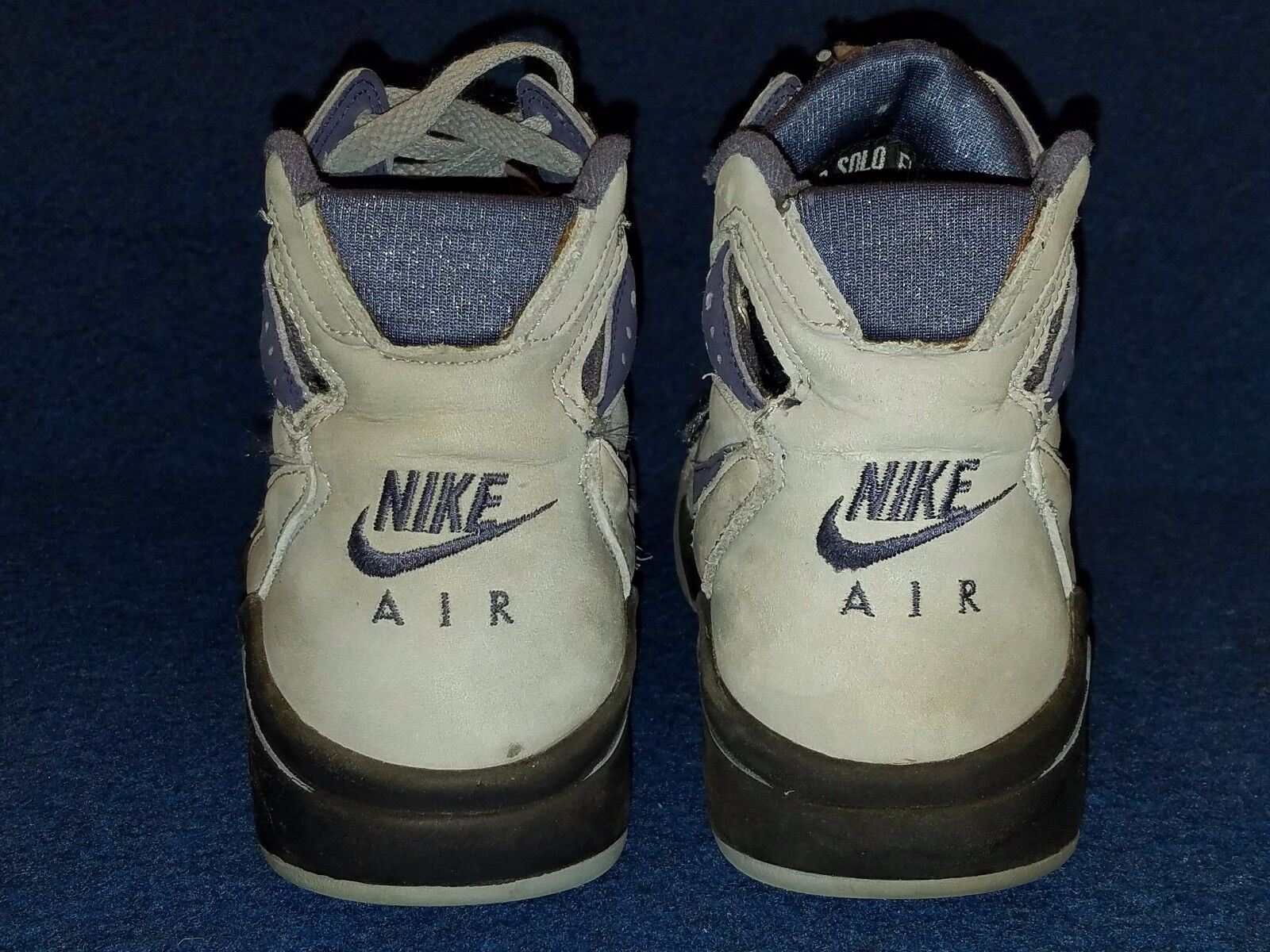 Vintage Nike Collector Air Flight Solo Shoes, 7 1/2, great shape, please read