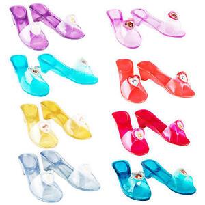 0a980a6b1 Image is loading Disney-Jelly-Shoes-Girls-Fancy-Dress-Fairytale-Princess-