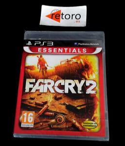 FARCRY-2-FAR-CRY-2-Sony-Playstation-3-PS3-Play-PAL-Espana-NUEVO-Precintado-New