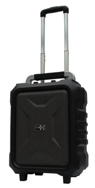 E-Lektron EL20-MB mobiles Soundsystem USB Bluetooth Soundanlage Musikkoffer Akku