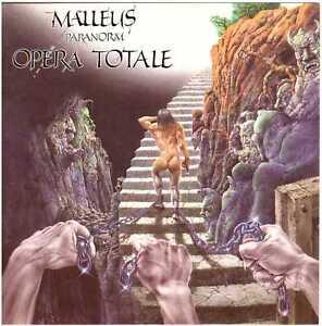 MALLEUS-Paranorm-Opera-Totale-CD-Italian-Prog-Rock-malleus-Scarce