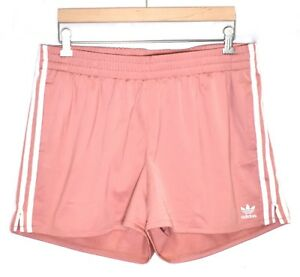 5027042c ADIDAS Women's Originals 3 Stripes Shorts (Size XL) Ash Pink CY4765 ...