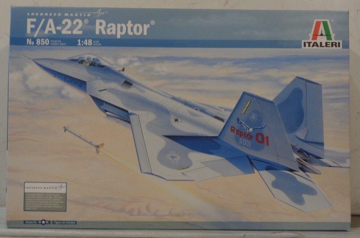 Italeri F A-22 Raptor 1 48 ITA850