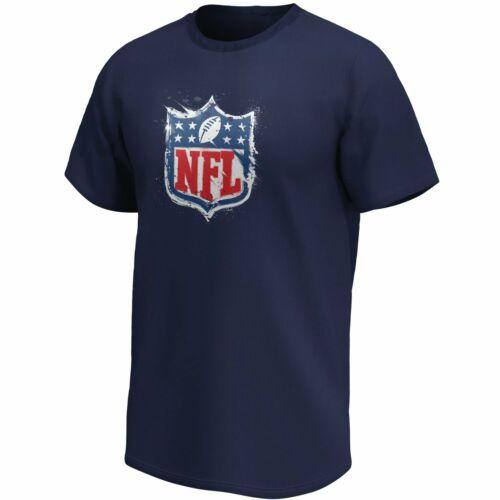 NFL SHIELD American Football Fan T-Shirt Splatter Logo