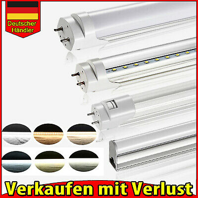 T5 T8 LED Tube Röhre Leuchtstoffröhre Lampe Licht Rohr 60CM 90CM 120CM 150CM