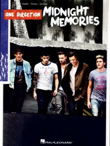One Direction Songbook HL00130470-9781480396265 Midnight Memories