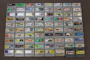 WHOLESALE-LOT-of-80-Nintendo-Super-Famicom-Games-SFC-SNES-Japan-Import-LOT-3