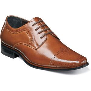 Oxford Cognac Dress Shoes 43411-221