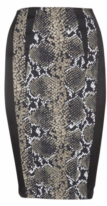 Karen millen Animal Print Skirt Size 6