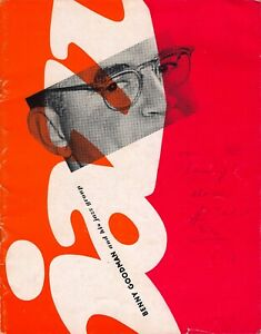 Benny Goodman Jazz Group 1959 ORIGINAL German tour program Anita O'Day
