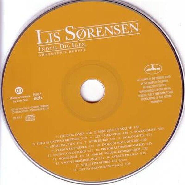 Lis Sørensen: Indtil Dig Igen (Sørensen's Bedste), pop