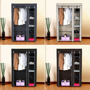 Image Is Loading Heavy Duty Portable Closet Storage Organizer Clothes Wardrobe