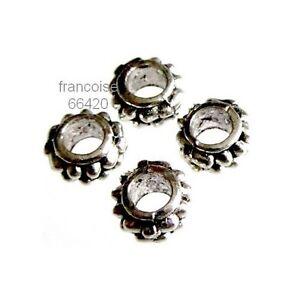 15-Intercalaires-spacer-argente-7x7x3-5mm-Perles-apprets-creation-bijoux-A375