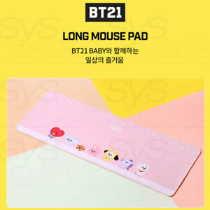BTS BT21 Official Authentic Goods Long Mouse Pad Baby Ver + Tracking Number