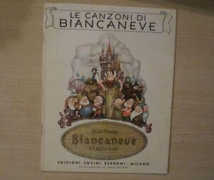 LE-CANZONI-DI-BIANCANEVE-Edizione-Suvini-e-Zerboni-Milano-1938