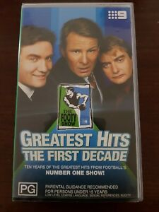 VHS-THE-FOOTY-SHOW-GREATEST-HITS-THE-FIRST-DECADE