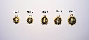 Pair-of-Falconry-Bells-Golden-Acorn-Bell-All-Sizes-Available-Great-Sound