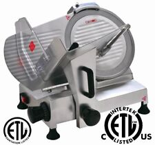 "NEW Commercial Deli Meat Slicer 8"" / 10"" / 12"" Blade NSF & ETL Approved"