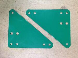 Details About Swingset Frame Bracket Steel Brace Playset Brace Plate Set Swing Set Hardware Pr