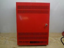 Edwards EST BPS10A Fire Alarm Aux Booster Power Supply Box w/keys ( BOX ONLY )
