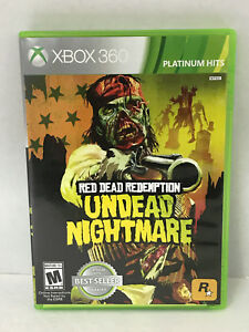 Red Dead Redemption Undead Nightmare Xbox 360 Platinum Hits Free