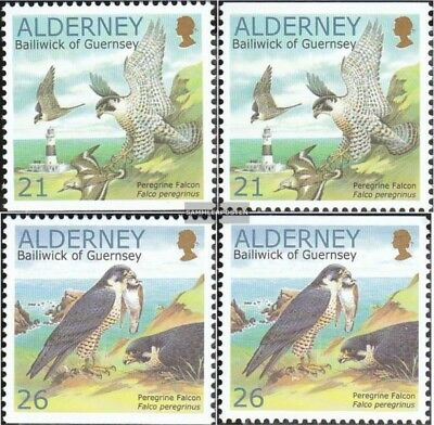 Never Hinged 2000 C Factories And Mines Animal Kingdom Stamps Genteel United Kingdom-alderney 145do,you,146do,you Unmounted Mint