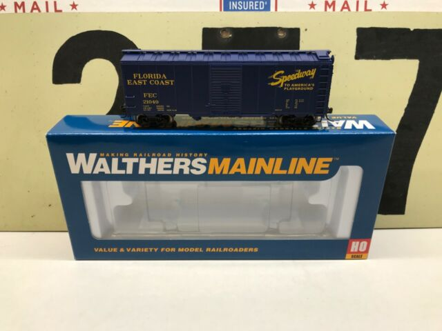 Walthers HO Scale FEC Florida East Coast 40' AAR Modified Boxcar RD #21049 RTR