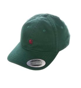 Carhartt-Baseball-Cap-Madison-Cap-Green-Merlot-Man-Adjustable-One-Size