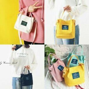 Women Korean Style Casual Fashion Canvas Handbag Shoulder Tote Shopping Bag