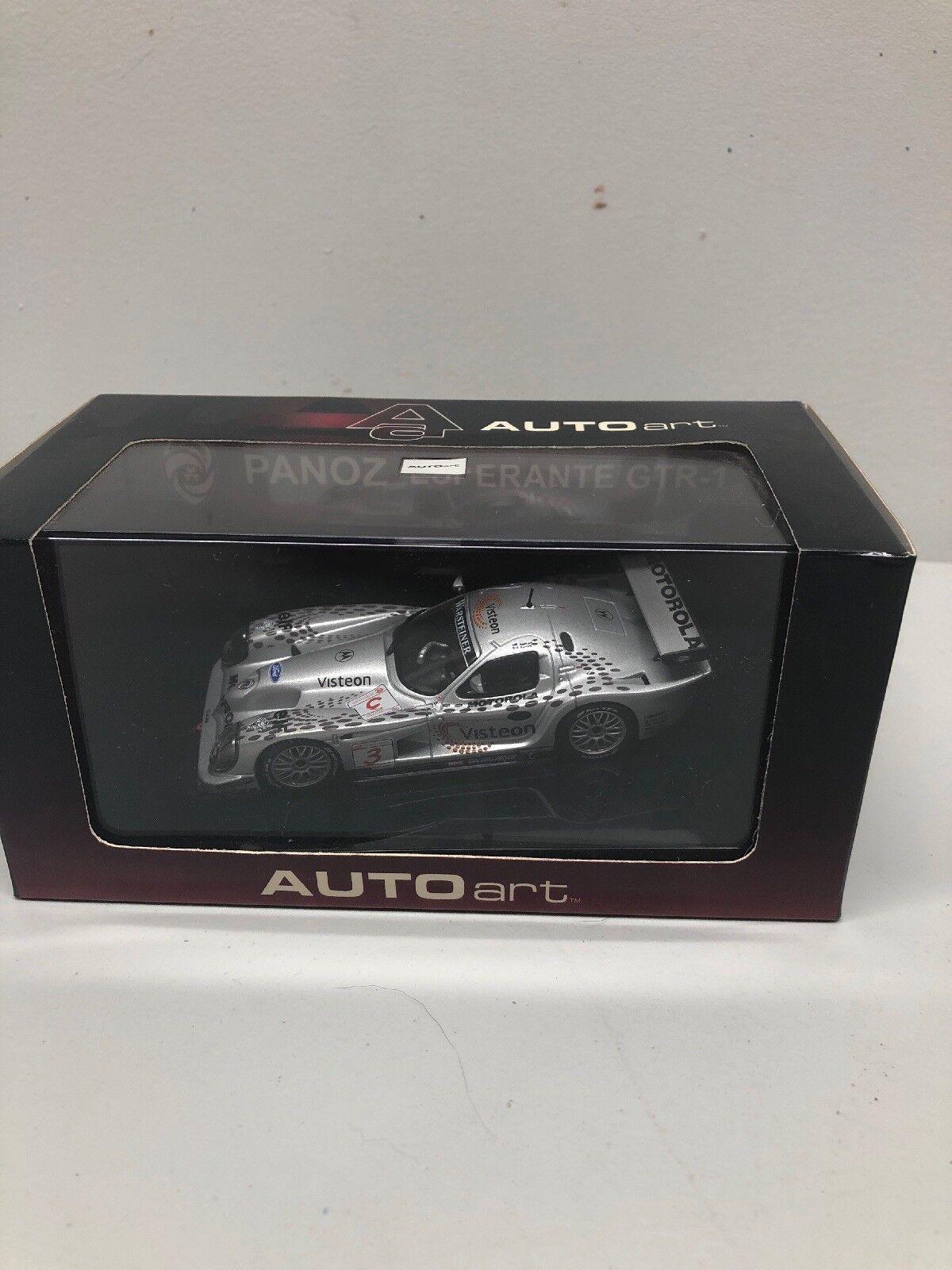 1 43 Autoart  Panoz Ligas GTR-1   3 3 3 equipo Visteon MIB Motorola 538594