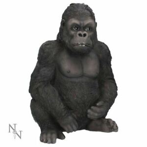 Novelty Gorilla Kong Ape Figurine Statue Ornament Primate Sculpture