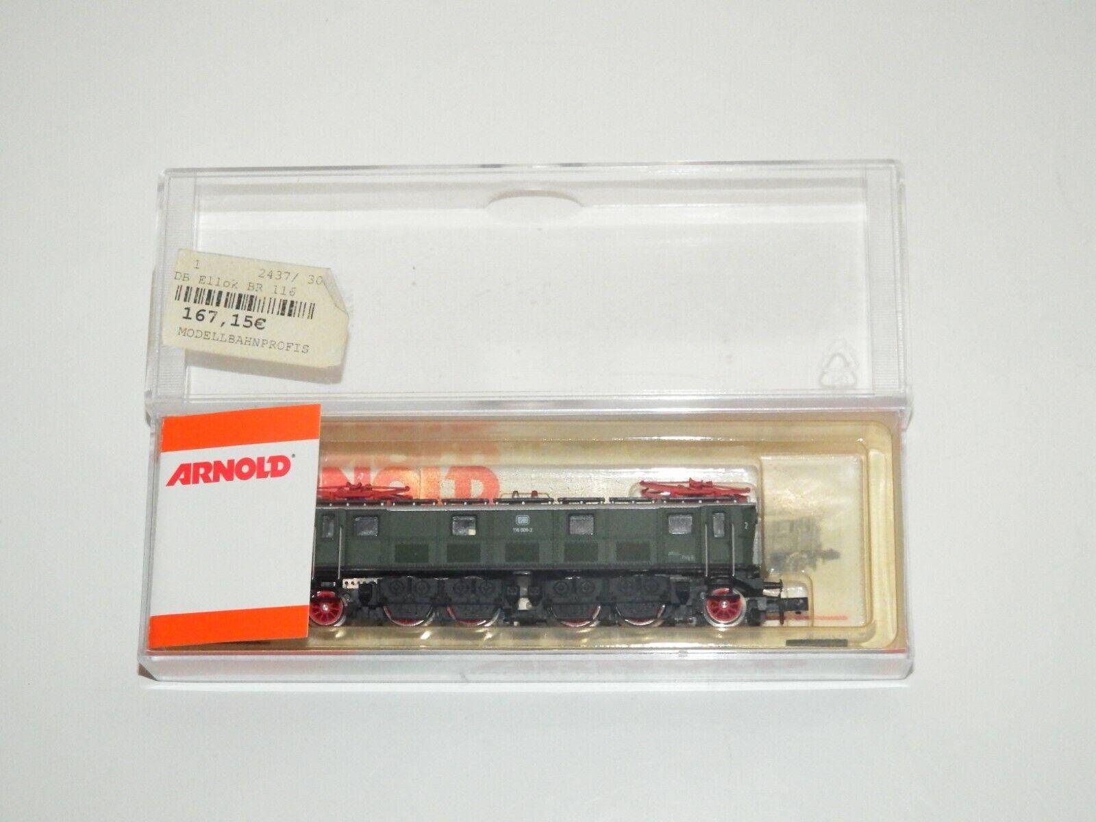 Arnold N 2437 Elektrolok BR 116 009-2 DB come nuovo OVP 8179