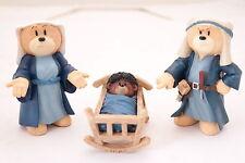 bad taste bears*Nativity Set 3-Ghetto Jesus*retired