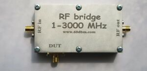 RF-bridge-1-3000-MHz-VNA-Return-Loss-SWR-reflection-bridge-antenna-cased