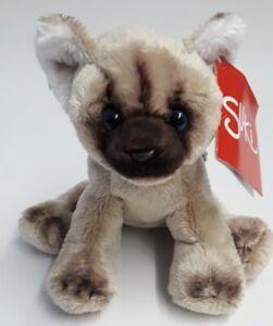 Suki 12014 Cat Himalaya 5 1/2in Cuddly Toy Collection Suki Classic