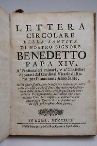Lettera-Circolare-di-PAPA-BENEDETTO-XIV-a-Penitenzieri-e-Confessori-di-Roma-1749